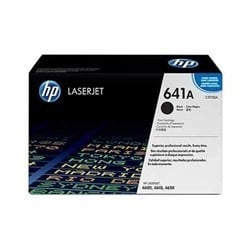 HP 641A Black Original LaserJet Toner Cartridge (C9720A)