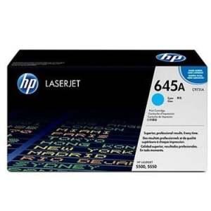 HP 645A Cyan LaserJet Toner Cartridge (C9731A)