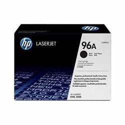 HP 96A Black LaserJet Toner Cartridge (C4096A)