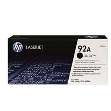 HP 92A Black LaserJet Toner Cartridge (C4092A)